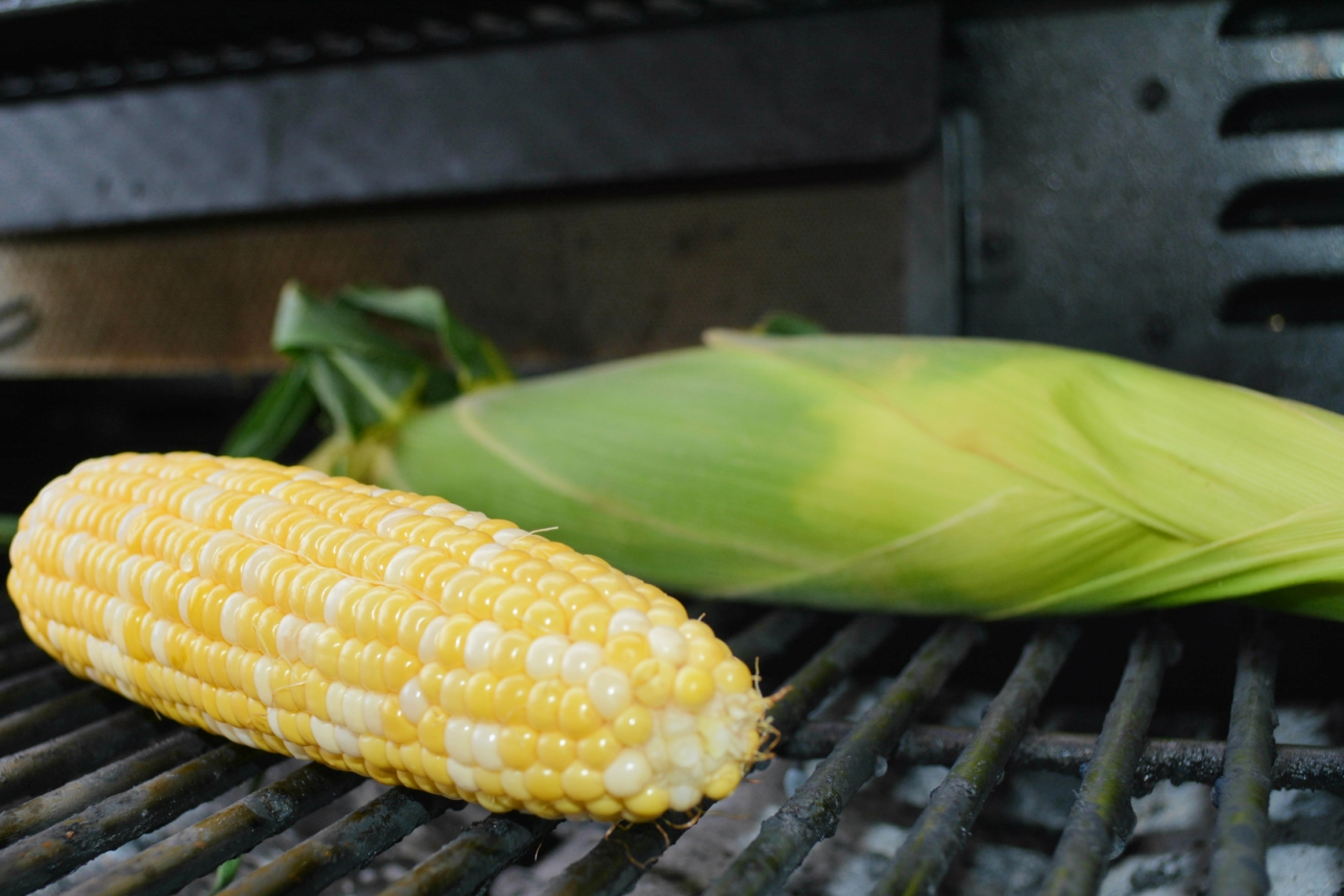 grilled corn: two ways